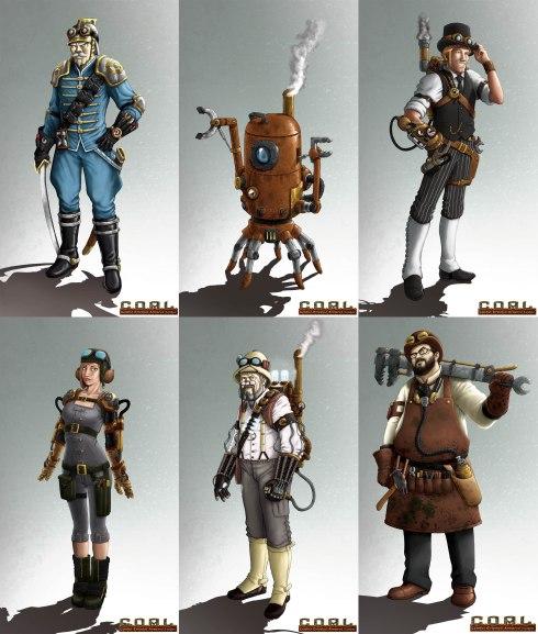 coal 6 personaggi
