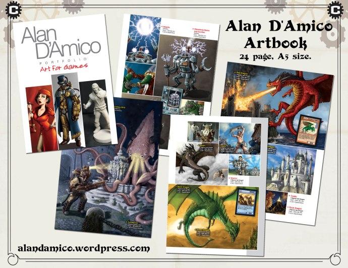 pubblicità artbook