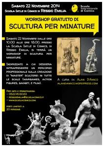 Corso di scultura per modellismo: Reggio Emilia eJesi