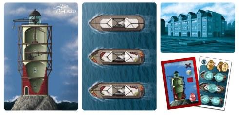 (Bretagne) - Carte gioco