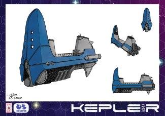 Kepler - Astronave