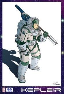 Kepler - Personaggio